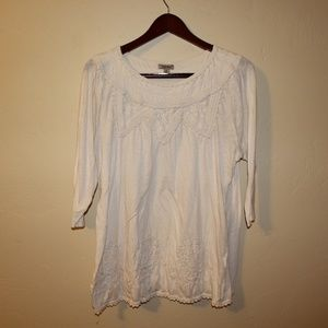 LUCKY BRAND DETAILED TUNIC